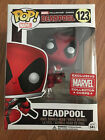 Funko Pop Marvel Deadpool Leaping #123 Collector Corps Exclusive