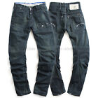 G STAR RAW WALL DENIM JEANS PANTS LOOSE TAPERED VINTAGE DAMAGED BLUE W31 L36