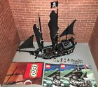 Lego 4184 POTC The Black Pearl Pirate Ship Complete Set Minifigures Manuals