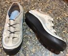 Privo by Clarks 85M Gray Leather Sport Comfort Casual Sneakers Flats