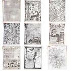 Retro Stamps Clear Stamp for Scrapbooking Transparent Silicone DIY Album Decor