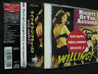RIGHTS OF THE ACCUSED Kick-Happy, Thrill-Hungry, Rec VICP-5065 CD JAPAN 1991 OBI