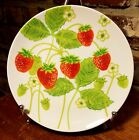 Fitz & Floyd Variations WILD STRAWBERRY Bread plate, 7