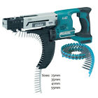 Makita BFR550Z Li-ion Cordless Auto-Feed Screwdriver 18v Body + 4000 Screws