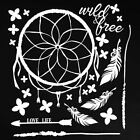 49 and Market 6 x 6 Chipboard Sets Wild  Free White