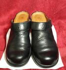 ARIAT Womens Shoes Clogs Black Leather Cap Toe ATS  Heel Strap Western Size 8B