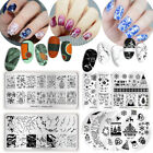 BORN PRETTY Nail Image Stamping Plates Nail Art Stamp Stencil Template Summer