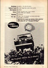 1963 LAND ROVER SERIES IIA 4WD AD A2 CANVAS PRINT POSTER FRAMED 234x165