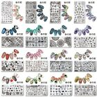 Nail Art Stamping Plates Rectangle Stamp Image Plate Template Manicure Tools