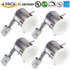 SUNCO 4 PACK 6-INCH REMODEL CAN W/ RECESSED LED 13W 830 LUMEN 5000K DIMMABLE