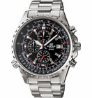 CASIO EF527D-1AV Edifice 100M Stainless Steel Chronograph Date Sport Watch $175