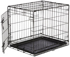 New Midwest Icrate Folding Metal Dog Pet Crate Cage Single Door Medium Size