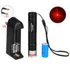 10miles 650nm 1mw Mini Red Laser Pointer Light Pen Lazer 16430 Battery Charger