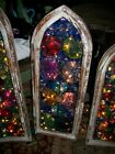 OFAK STAIN GLASS WINDOWS THAT LIGHT UP FRAMES FROM CHURCH IN MEXICO
