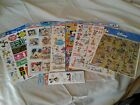 New Lot of 10 Packs Disney Mickey Mouse Sandylion Scrapbooking Stickers Rub Ons