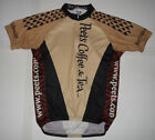VINTAGE VOLER PEETS COFFEE  TEA Cycling BIKING Club Raglan Jersey Shirt L