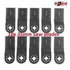 10x Wood/Metal Blades for Fein Multimaster Ryobi Challenge Multitool 35mm