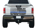 Blue Line Usa Flag Distressed Tailgate Decal Fits Truck Tailgate Ford F150 Tg1