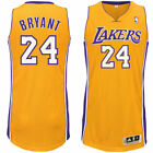 adidas Kobe Bryant Los Angeles Lakers Gold Home Authentic climacool Jersey Tall