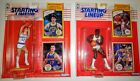 NBA 1990 STARTING LINEUP  CHRIS MULLEN and KARL MALONE ACTION FIGURES