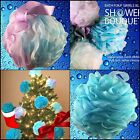 Loofah Bath Sponge Swirl Set XL 75g by Shower Bouquet: Extra Large Mesh Pouf NEW