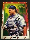 1997 Topps Gallery Mike Piazza Peter Max Serigraph Art Auto Sketch Autograph HOF