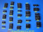VINTAGE POLYSTYRENE GOOD ALL CAPACITOR TYPE 820 UB LOT 1 022 047 01 039