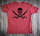 Jolly Roger Classic Pirate Flag T shirt New 6 Color Choices Pirate Shirt