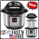 Instant Pot Pressure Cooker Electric 7 in1 Programmable Stainless Steel Steamer