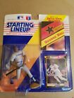 STARTING LINEUP-GEORGE BELL FIGURE W/ CARD & POST
