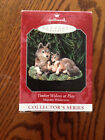 NEW 1998 Hallmark Ornament TIMBER WOLVES AT PLAY 2nd Majestic Wilderness Series