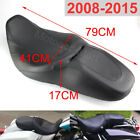 2 Up DriverPassenger Seat Smooth For Harley Road King Street Glide 07 2015 2010