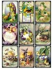 9 Easter Vintage Victorian Hang Tags Scrapbooking Paper Crafts 209