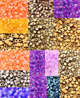 CHOOSE COLOR Japanese 4mm Square Cubes Glass Seed Beads 28 Grams