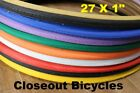 Pick Any Color Duro 27 X 1 Road Touring Bike Bicycle Tire