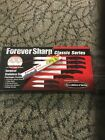 NEW Forever Sharp Classic Series 12 Pc Set Stainless Steel Knives