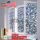 Premium Frosted Film Glass Home Bathroom Window Security Privacy Sticker 5039b