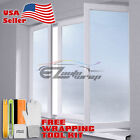Frosted Film Glass Home Bathroom Window Security Privacy Sticker 01