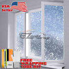 Frosted Film Glass Home Bathroom Window Security Privacy Sticker 4001
