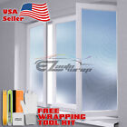 Premium Frosted Carbon Fiber Film Glass Home Bathroom Window Security Privacy