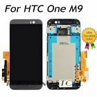 For HTC ONE M8 M9 Complete LCD Display Touch Screen Replacement Digitizer+ Frame