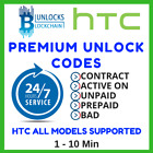 Unlock code HTC Sensation One HTC M7 M8 Radar Desire 625 626s 8X 512 Unlocking