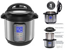 Instant Pot 6 Quart 9-in-1 Multi Use Programmable Pressure Cooker Dou Plus