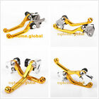 For Suzuki RM85/125/250 RMZ250/450 DRZ400SM DR250R Clutch Brake Levers US