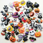 Mix Lots Halloween Pumpkin Resin Flatback Button Scrapbook Diy Craft Phonecover