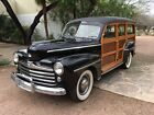 1947 Ford G80 1947 FORD WOODY STATION WAGON NICE SURVIVOR