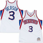 New 1996-97 Authentic Philadelphia 76ers Allen Iverson jersey by Mitchell