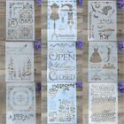 Layering Stencils For Walls Painting Scrapbooking Stamping Album Card Template
