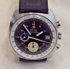 1970s Omega Seamaster Stainless Steel Chronograph Ref 176007 Cal 1040 Wristwatch