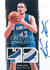 2009-10 Exquisite Number Pieces Auto Dual Patch Kevin Love RC (4 42) 4 Color MIN